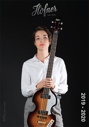 Hofner Guitar Catalogue 2019