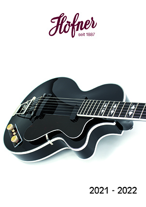 Hofner Guitar Catalogue 2021